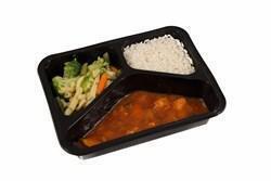 Kip pilav Franse groentemix witte rijst (500g)