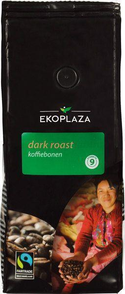 Dark roast koffiebonen (zak, 500g)