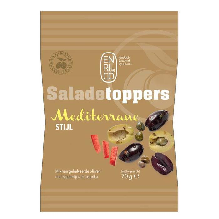 Enrico Saladetoppers mediterrane mix (70g)