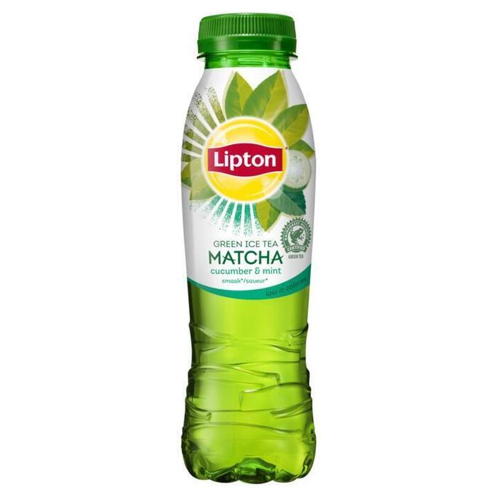 Lipton Ice Tea Matcha Green Cucumber Mint 330 ml (rol, 33 × 33cl)
