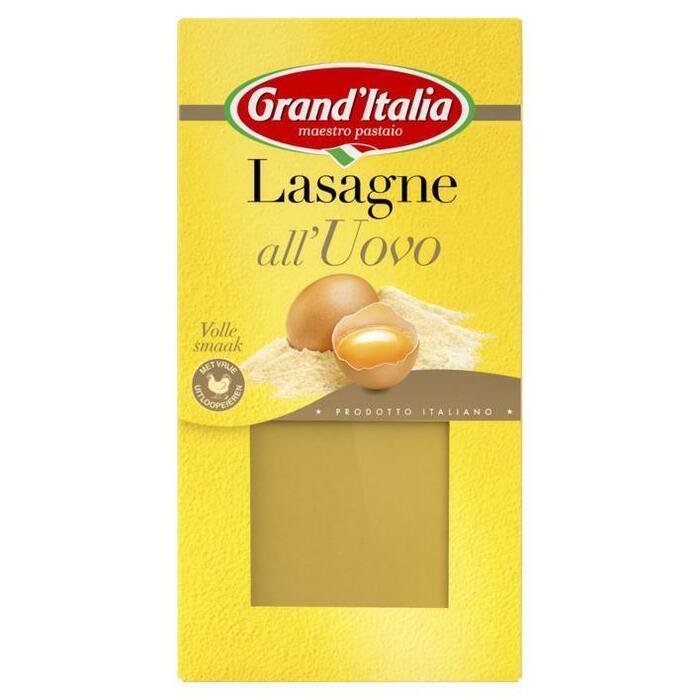 Lasagnebladen all'uovo (250g)