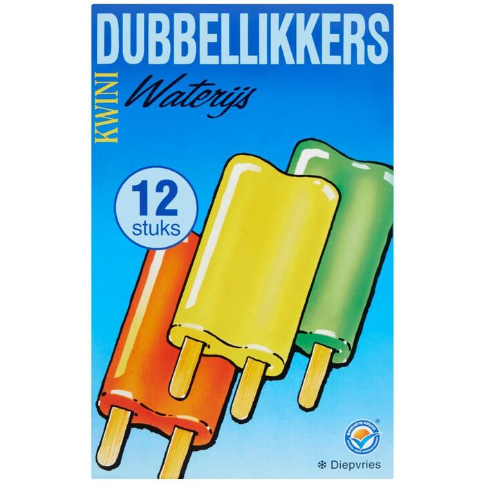 Dubbellikkers (doos, 12 stuks)