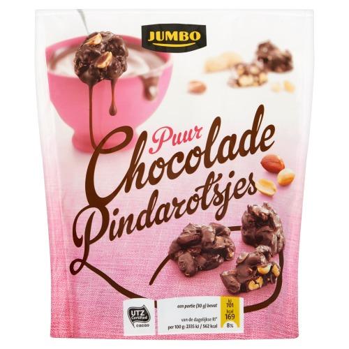 Jumbo Puur Chocolade Pindarotsjes 150g (150g)