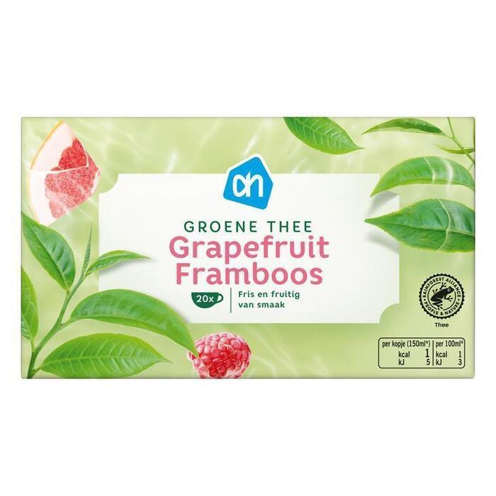 AH Groene thee grapefruit framboos