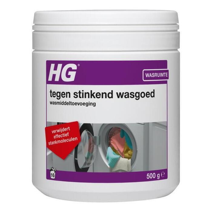 HG Wasmiddel stinkend wasgoed (500g)