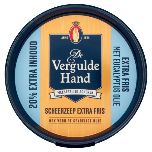 De Vergulde Hand Scheerzeep Extra Fris 75 g (75g)