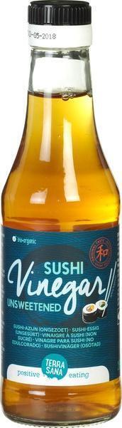 Genmai Su - Sushi-azijn (ongezoet) TerraSana 250ml (250ml)