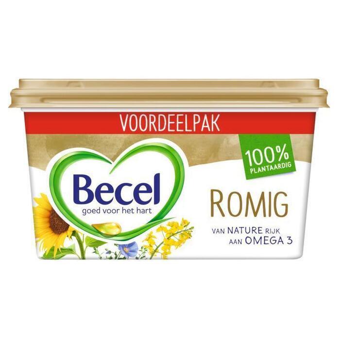 Becel Margarine romig (kuipje, 575g)