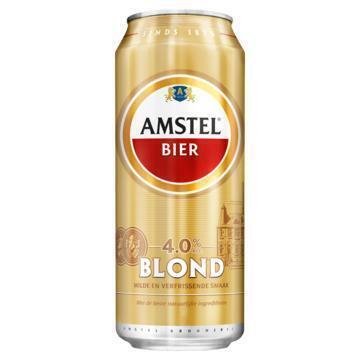 Amstel Bier Blond 4.0% (rol, 0.5L)