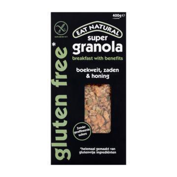 Glutenvrij Super Granola Boekweit, Zaden & Honing (400g)