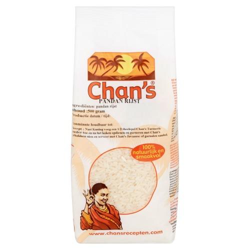 Chan's Pandan Rijst 500g (500g)