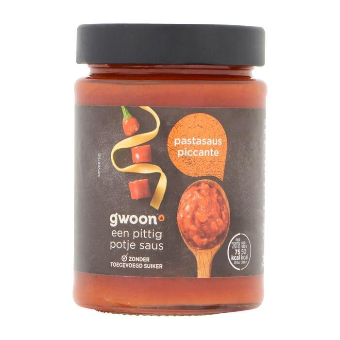 g'woon Pastasaus picante (295g)
