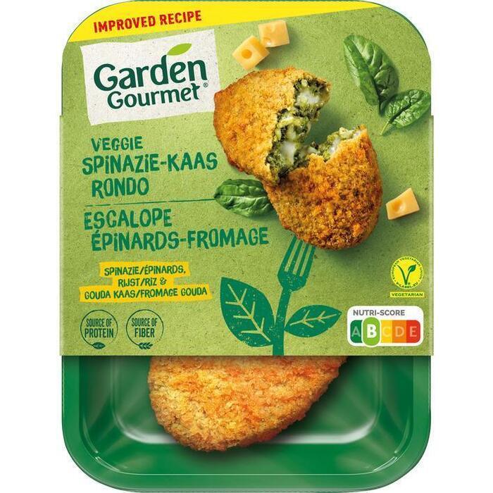 Garden Gourmet Vegetarische spinazie-kaas rondo (180g)
