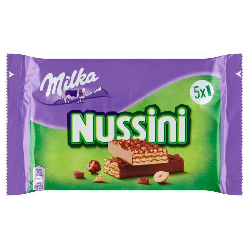 Milka Nussini 5 x 31,5 g (31.5g)