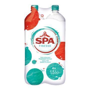 Spa Finesse 1.5 liter 4-pack incl. €1,00 statiegeld (4 × 1.5L)