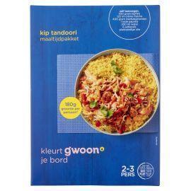 g'woon Kip Tandoori maaltijdpakket 292gr (292g)