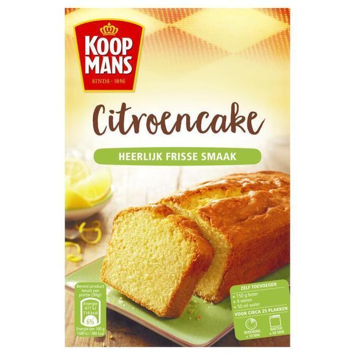 Koopmans Citroencake (400g)