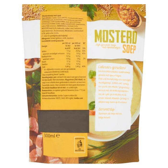 Jumbo Mosterdsoep 300 ml (30cl)