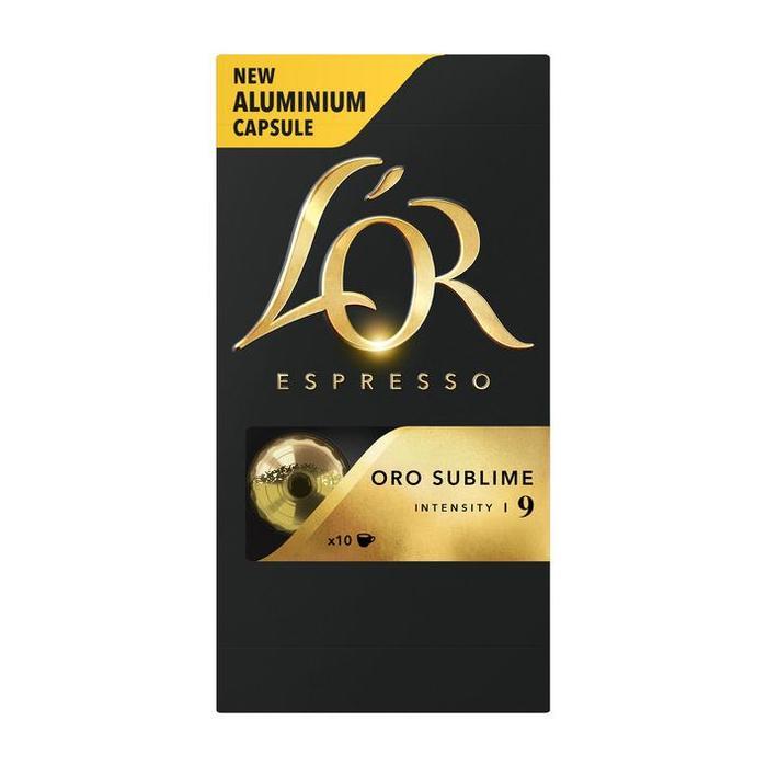 L'OR ESPRESSO Oro Sublime Koffiecapsules 10 Stuks (Stuk, 10 × 52g)