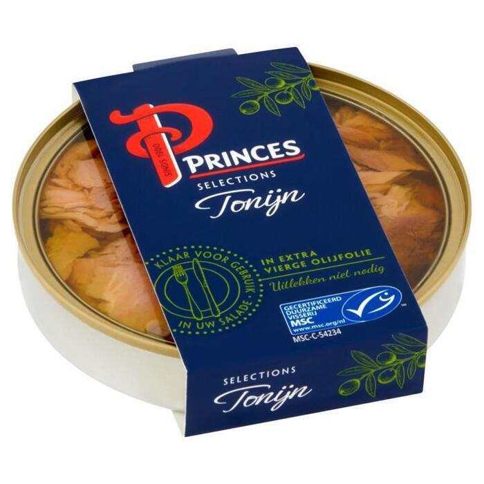 Princes Selections Tonijn in Extra Vierge Olijfolie MSC 120 g (120g)