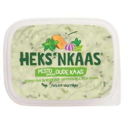 HEKS'NKAAS® Pestosmaak Oude Kaas 150 g (kuipje, 150g)