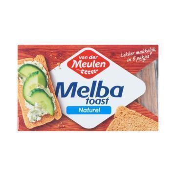 Van der Meulen Melba toast naturel (120g)