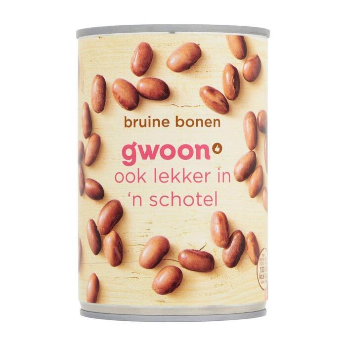g'woon Bruine bonen (400g)