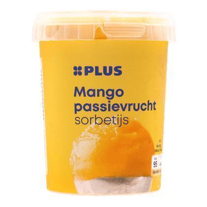 Sorbetijs mango-passievrucht (0.5L)