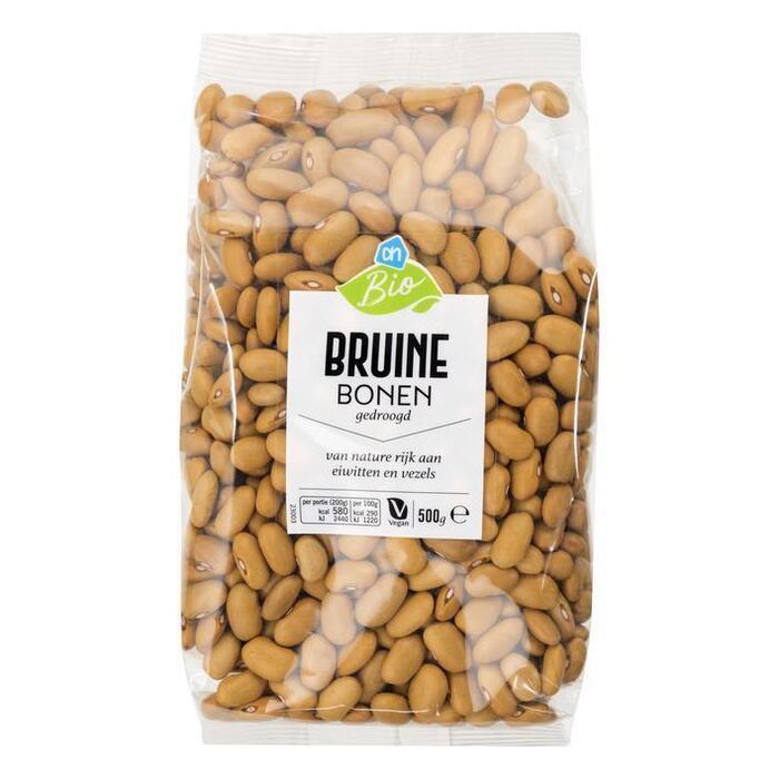 AH Biologisch Bruine bonen (500g)