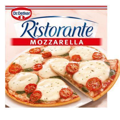 Ristorante Pizza Mozzarella (Stuk, 325g)
