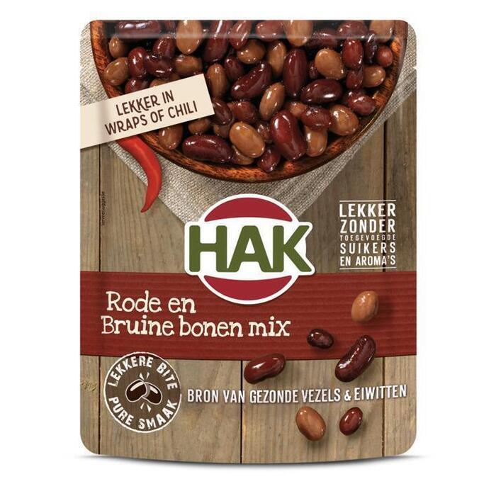 Rode en Bruine Bonen Mix (zak, 225g)