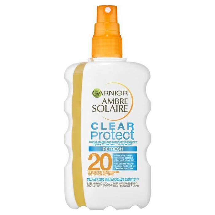 Ambre Solaire Clear protect spray spf 20 (200ml)
