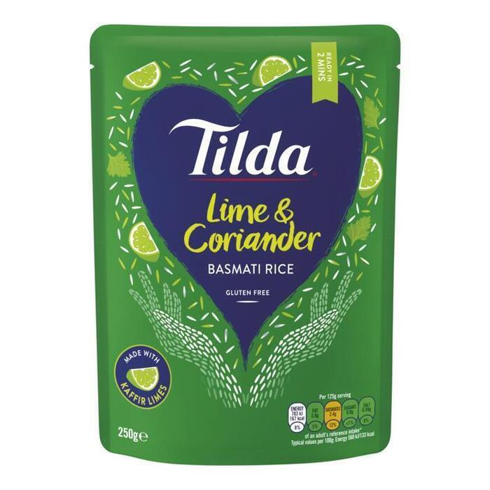 Tilda Lime-coriander steamed basmati rice (250g)