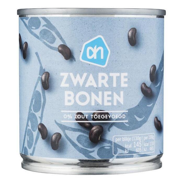 AH Zwarte bonen 0% klein (200g)