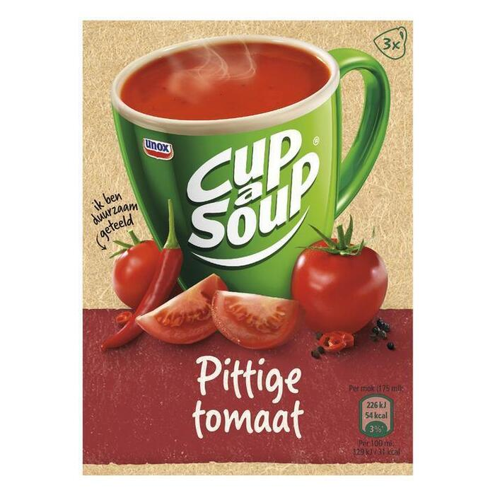 Cup-A- Soup Pittige Tomaat (3 × 16g)