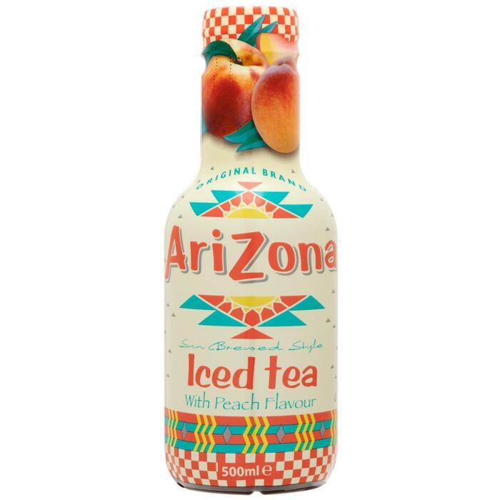 Arizona Iced tea Peach (rol, 50 × 0.5L)