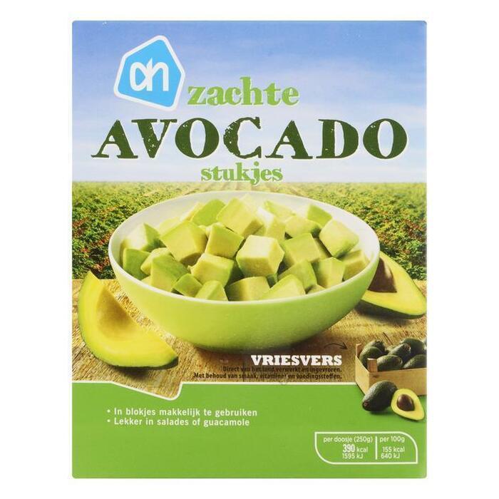 Zachte avocado stukjes (250g)