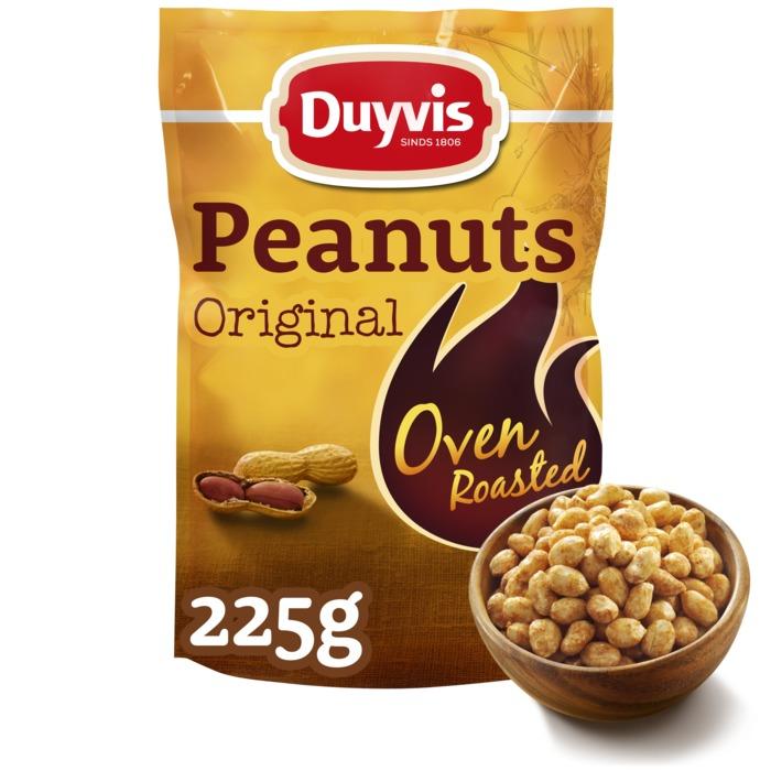 Oven Roasted Peanuts Original (Stuk, 225g)