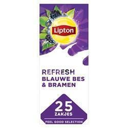 Lipton Thee Professioneel Blue Fruits (25 × 1.6g)
