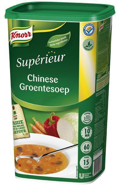 Knorr Sup Chinese Groentensoep 1.05KG 6x (6 × 1.05kg)