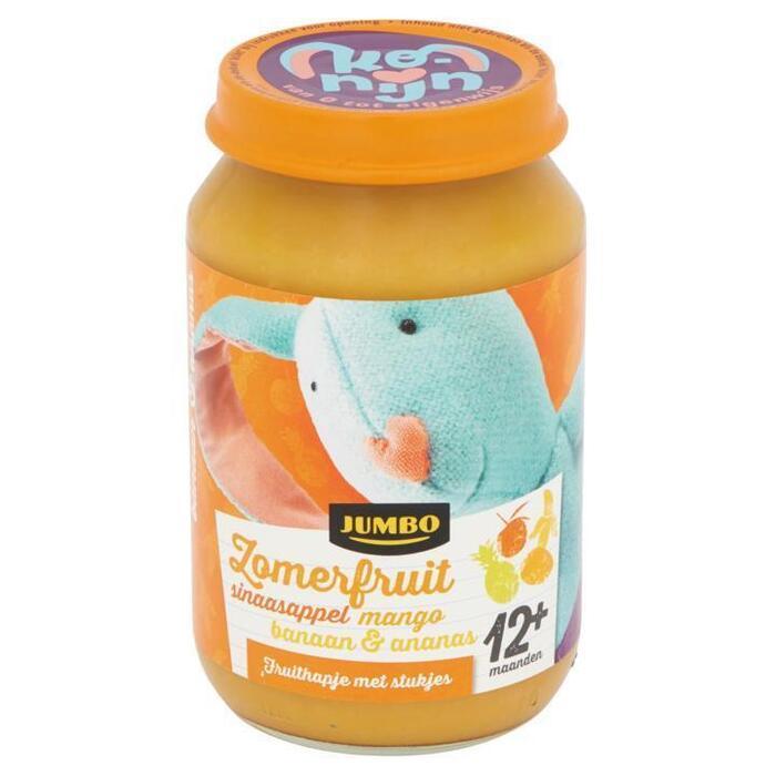 Jumbo Zomerfuit Sinaasappel Mango Banaan & Ananas 12+ Maanden 190g (190g)