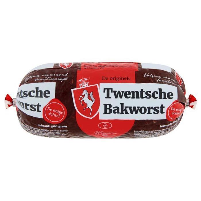 Twentsche Bakbloedworst (wikkel, 500g)