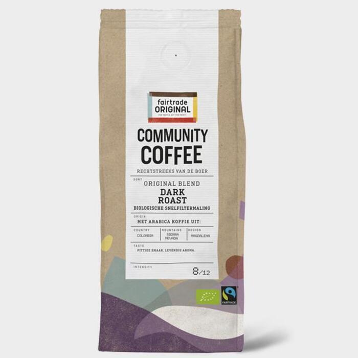 Fairtrade Original Dark roasted snf (250g)