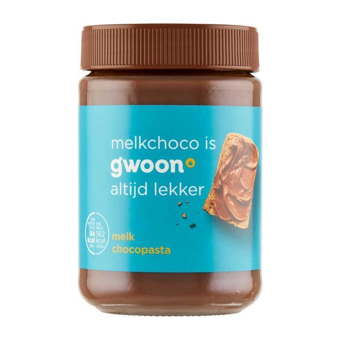 g'woon Chocopasta melk (400g)