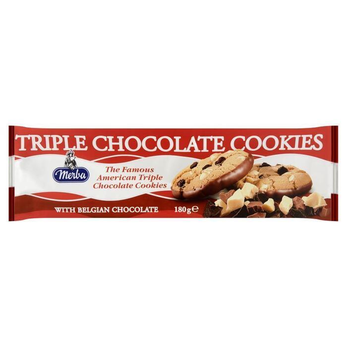Triple Chocolate Cookies Merba (180g)