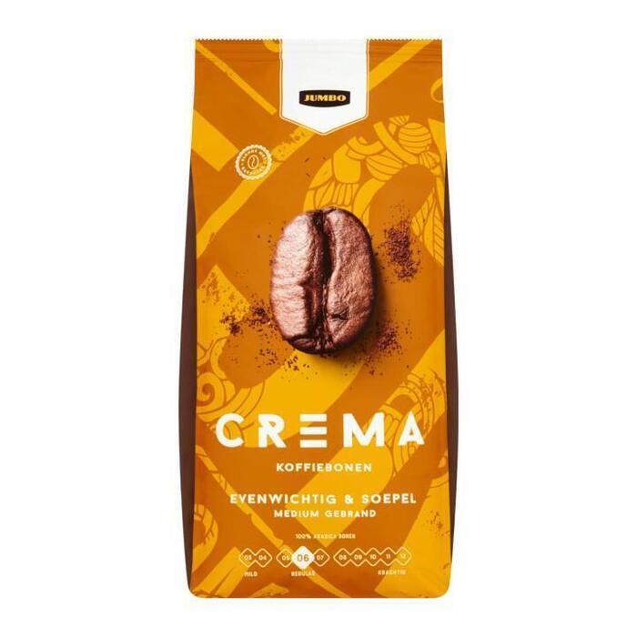 Jumbo Crema Koffiebonen 1kg (1kg)