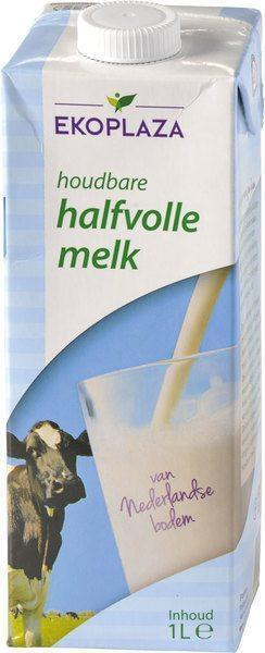 Halfvolle houdbare melk (1L)