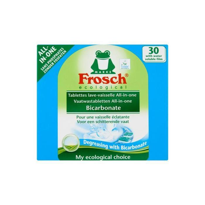Frosch 30 Vaatwastabletten All-in-One Bicarbonate 600g (600g)