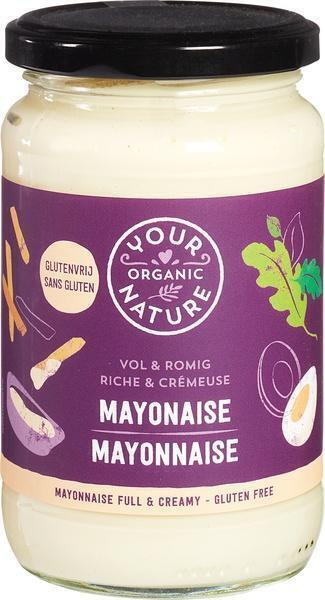 Mayonaise vol & romig (37cl)