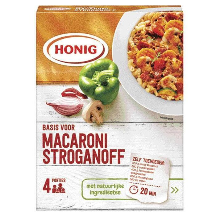 Honig Mix voor macaronisaus stroganoff (663g)